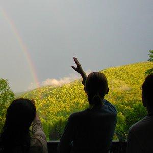 Rainbow at Stowe Farm cohousing Community