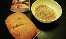 Oatmeal maple nut bread with local wheat