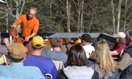 Walker Korby's Chainsaw Safety/Maintenance Workshop at Katywil was excellent