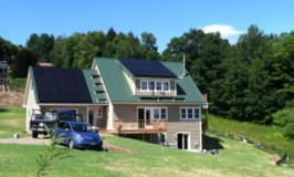 Peters super energy efficient house at Katywil Farm Community