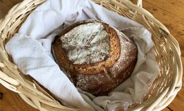 Nothing like Judy's fresh, hot-out-of-the-oven sourdough bread
