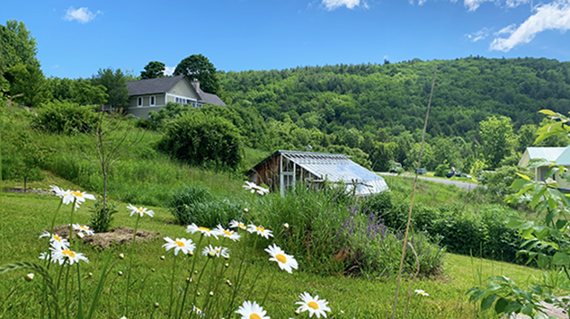 House for sale at Stowe Farm with amazing views