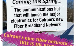 Fiber optics comes to Colrain in 2020!