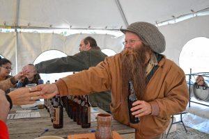 Tasting at Stoneman Brewery