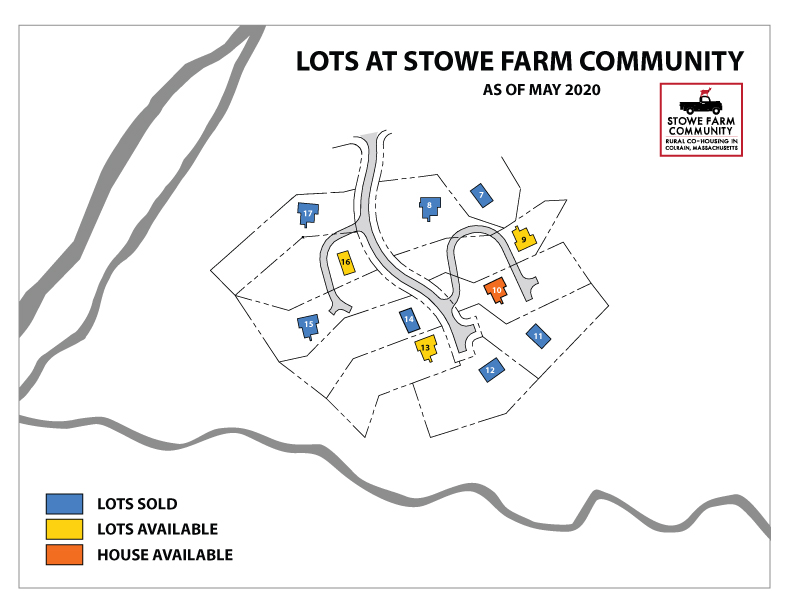 lots for sale at Stowe Farm Community
