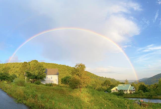 Aug 24, 2020 rainbow