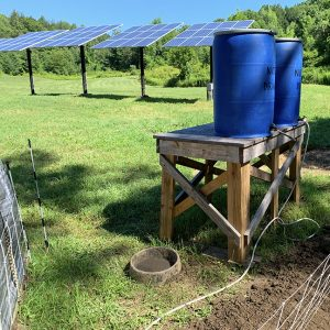 water source for pig waterer