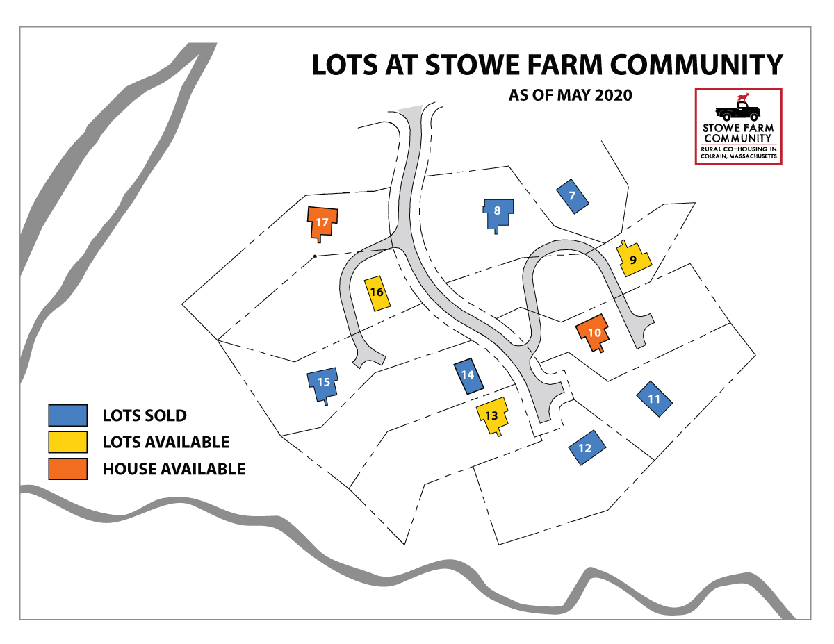 Building lots and houses for sale at Stowe Farm Community