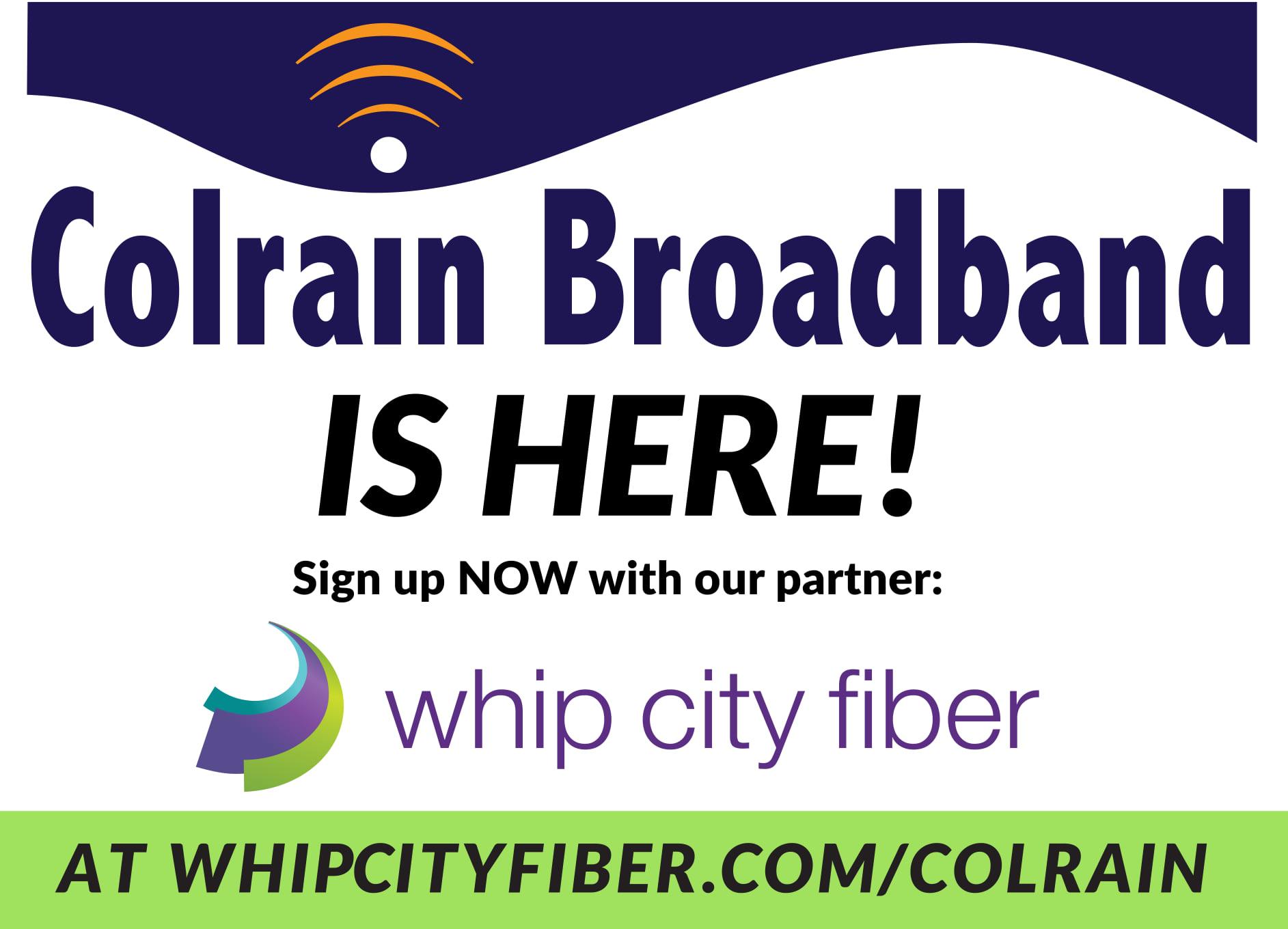 Colrain Broadband is here!