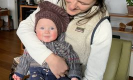 The rosiest cheeks at Stowe Farm!