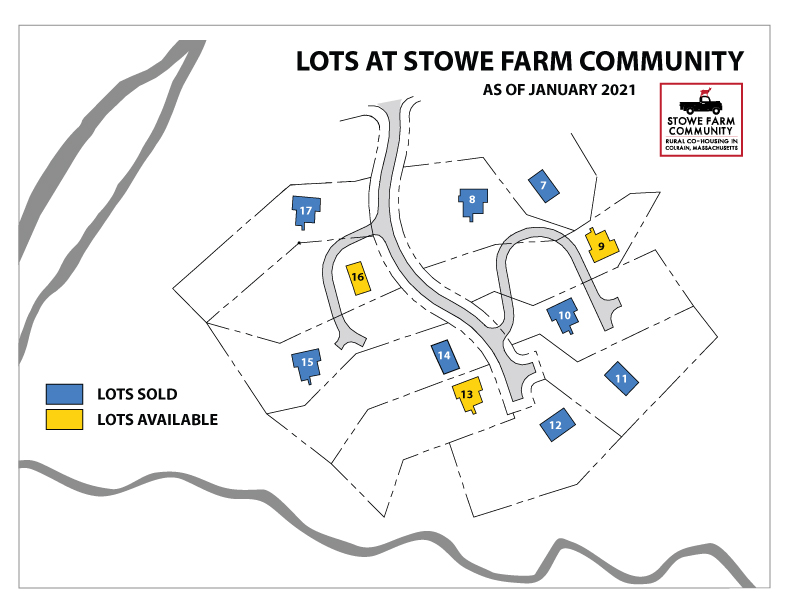 Available lots at Stowe Farm