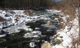 Mason's icy river