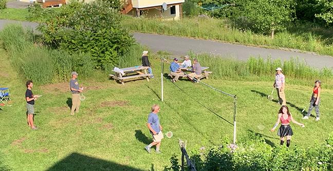 badminton at stowe farm